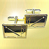 9ct Yellow Gold Cufflinks