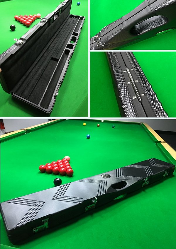 Peradon Beast Case For One Piece and 3/4 Snooker Cues and Extensions