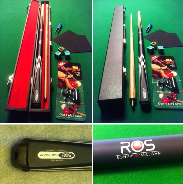 SP60 - Ronnie O'Sullivan Cue and Case Deal