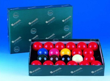 Aramith Snooker Ball Sets (with 15 Reds)