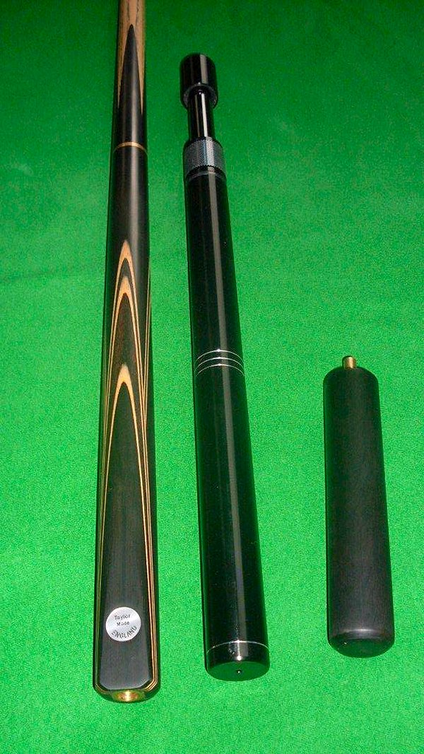 English Snooker Cue, Hand-Built and Spliced