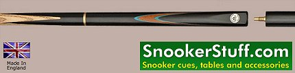 Century Three Quarter Jointed Snooker Cue (Ref P1353)